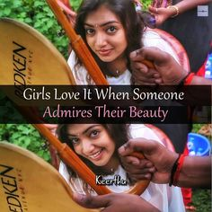 Yes myilu. u r a beautiful girl. not a women. usually we call girl when they r getting old only women. girl means u r still young. that's why I m saying u r a beautiful girl. Nazriya Nazim, Favorite Movie Quotes, Girl Facts, Girly Quotes, Dear Diary, Getting Old, I Movie, Qoutes, Attitude