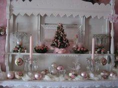 Addobbi Decorazioni natalizie Shabby Chic 2014
