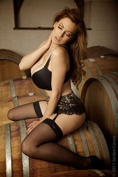 Sexy Jordan Carver Pictures Stockings