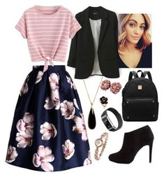 """""""idalia - valentine's """"date"""" w/ vice"""" by paramore-24 ❤ liked on Polyvore featuring Dean Davidson, Chicwish and New Look"""