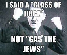 """""""Anne Frankly, I find Holocaust jokes offensive."""" so wrong but I can't stop laughing @Shane Evans Martin"""