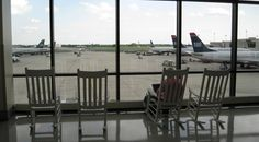Glare reduction with commercial window tinting helps for comfort and heat control while looking at the planes.