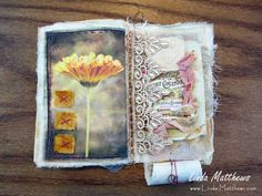 Stitched Journal of Summer Memories | Linda Matthews: Textile Art & Design