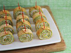 Party Food: Pesto Tortilla Pinwheels - Home Cooking Memories