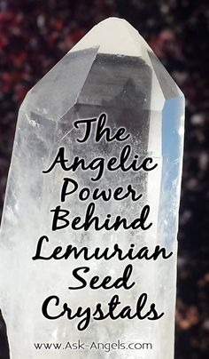 If you haven't yet heard of the ancient wisdom stored with Lemurian Seed Crystal, you're missing out on a powerful way to heal and grow.  Read my latest blog post to learn more. #lemurian #crystals #angelic