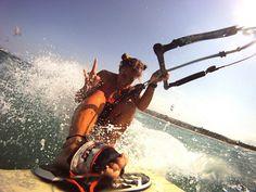 kitesurfing. @Meagan Kreisel we must actually do this!