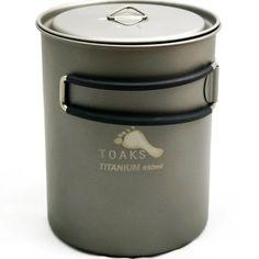TOAKS Titanium 850ml Pot >>> For more information, visit image link.