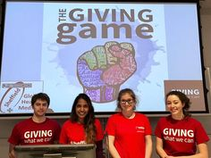 A shift in priorities at the Giving Game Project. Read further to find out where Giving Games are headed next!
