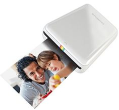 Polaroid ZIP Mobile Printer w/ZINK Zero Ink Printing Technology - Compatible w/iOS & Android Devices - White Polaroid Instant Print for the Digital Age For Usb Hub, Best Portable Photo Printer, Bluetooth, Mobile Photo Printer, Smartphone Printer, Polaroid Printer, Polaroid Cameras, Wireless Printer, Shopping