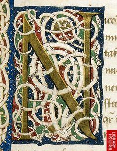 White vine initials. Italy (Mantua or Ferrare?)