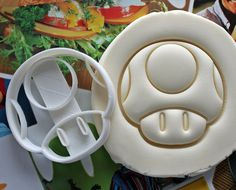 Toad Super Mario Cookie Cutter / Made From Biodegradable Material / Brand New