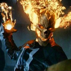 Ghost Rider in Collectibles Ghost Rider Johnny Blaze, New Ghost Rider, Ghost Rider Marvel, Marvel Art, Marvel Heroes, Ms Marvel, Captain Marvel, Comic Books Art, Comic Art