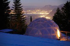 Nouveau chalet en Suisse : l'igloo de luxe   GQ
