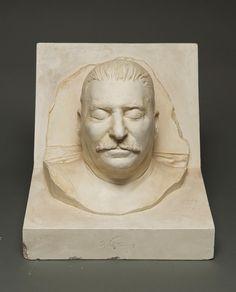 М.Г. Манизер. Посмертная маска И.В. Сталина. 1953 г. Тонированный гипс.