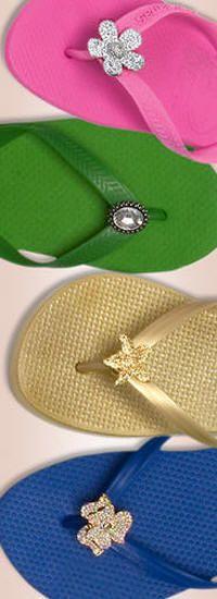 4d2ef2591462c1 DECORATE MY WEDDING - Flip Flop Glam Rhinestone Clips.