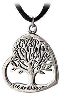 Tree of Life Heart Necklace at The Animal Rescue Site