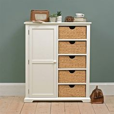 Tetbury Grey Combination Wardrobe - The Cotswold Company Hallway Furniture, Dining Room Furniture, Small Sideboard, Wardrobes, Tall Cabinet Storage, Ivory, Farmhouse, Grey, Free Delivery