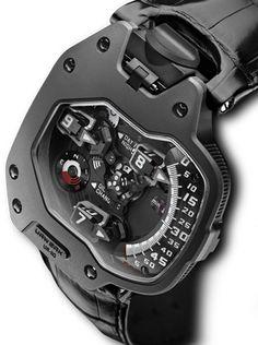 "Urwerk ""revolving satellite complication"" – Clock World Amazing Watches, Beautiful Watches, Cool Watches, Watches For Men, Men's Watches, Dream Watches, Luxury Watches, Stylish Watches, Breitling"