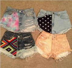 I am in love with the Aztec ones!!!
