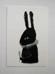 cathy cullis' black rabbit