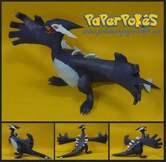 Paperpokés - Pokémon Papercrafts: LUGIA (SHADOW)