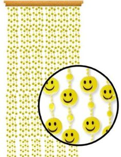 Happy curtain beads :)