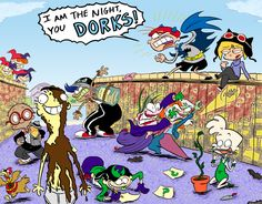 Ed, Edd, n' Eddy + Batman