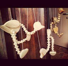 #mowk #furniture #wood #ayous #birds