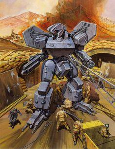 Federation Assault Suit - Source: Cybernator (JP: Assault Suits Valken)