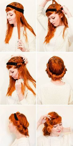 overnight-heatless-curls-hack-headband-wrap                                                                                                                                                     Mais