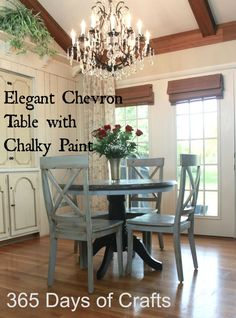Update your worn furniture with this easy to follow tutorial using Frog Tape and DecoArt Chalky Finish Chalk Paint.   Refinishing furniture does not have to be something you fear. Chalky paint makes it easy to do with very little prep and priming.