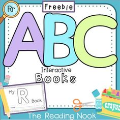 **My R Book is a sample from my set of 26 Alphabet Interactive Books.** It  is just what your students need to practice letter identification, writing, sounds, and categorizing in a hands-on way!