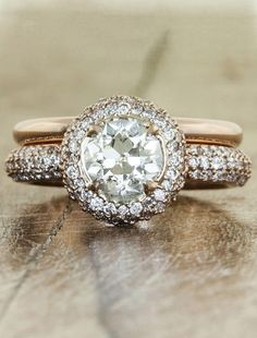 Philomena July 2012 -- this is really pretty.. i like the blinged our engagement ring and the plain bold gold band