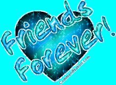 Best Friend Glitter Graphics | Friends Forever Ocean Green Glitter Heart