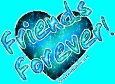 Best Friend Glitter Graphics   Friends Forever Ocean Green Glitter Heart