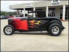 1932 Ford Hi-Boy Street Rod 350 CI, Automatic  #MecumDallas