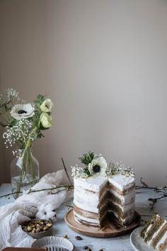 VEGAN MATCHA TRES LECHES CAKE