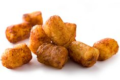 ... tots (with cucumber-yogurt sauce), cheesy tots (with chicken gravy