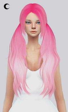 Kalewa-a: Baby Doll hairstyle retextured • Sims 4 Downloads