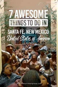 7 Awesome Things to Do in Santa Fe, New Mexico, USA Santa Fe, New Mexico is known for its pueblo-styled architecture and has a strong sense of arts and culture. Its historic district was founded as a Spanish Colony in 1610 and has roots in the Mexican-Indian traditions. When so much of the USA has become homogenous, Santa Fe stands out as refreshingly different. From Indian artifacts to space exploration and Hispanic culture, it is a remarkable place to visit.