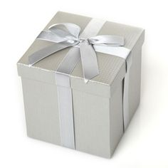 Complete your Christmas gift with a beautiful silver metallic gift box. Comes in 3 sizes, this box is ideal for our glass and handpainted baubles, finished with satin ribbon. Knitted Christmas Stockings, Christmas Knitting, Large Gift Boxes, Silver Paper, Gift Of Time, Crystal Gifts, Beautiful Gift Boxes, Covered Boxes, Small Gifts