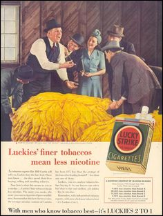 LUCKY STRIKE CIGARETTES LIFE 09/30/1940