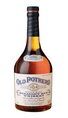 Old Potrero Straight Rye Whiskey Anchor Distilling Company Rye Whiskey, Whiskey Distillery, Bourbon Whiskey, Wine Mixed Drinks, Liquor Drinks, Alcoholic Drinks, Alcohol Bottles, Liquor Bottles, Scotch Whisky