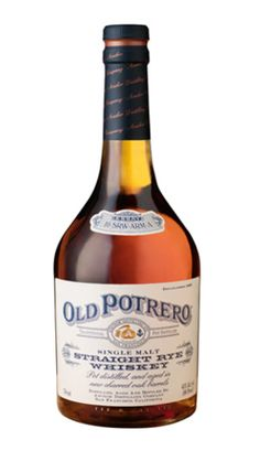 Old Portrero Straight Rye Whiskey    This release was distilled in a small copper pot still at our distillery on San Francisco's Potrero Hill, from a mash of 100% rye malt. Rye was the grain of choice for America's first distillers, and using a mash of 100% rye malt produces a uniquely American whiskey.