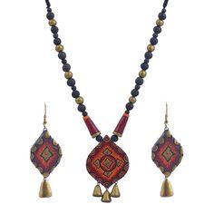 Terracotta Necklace Set - Craft Shops India