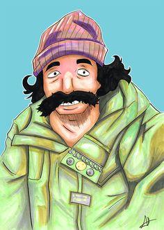 Jamboo as Cheech by MichaeL-Lewerissa.deviantart.com on @DeviantArt