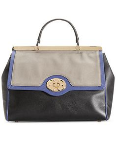 Emma Fox Classics, Leather Satchel