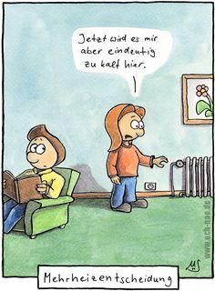 So ist das bei der Mehrheiz-Entscheidung .... www.och-noe.de - Cartoons