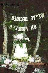 DIY Wedding Decoration Ideas - Home Decorating Ideas Diy Wedding Decorations, Wedding Ideas, Wedding Planner, Backyard, Simple, Home Decor, Wedding Planer, Patio, Decoration Home