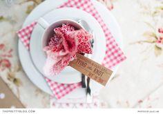 My kitchen tea {cute & girly} | Bridal Shower | The Pretty Blog